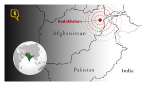 Afghanistan earthquake epicenter