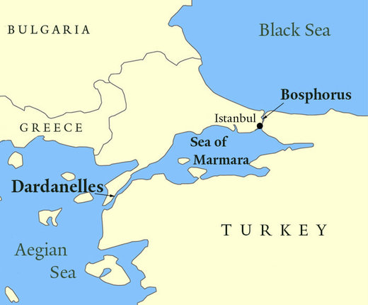 Bosphorus and Dardanelles straits
