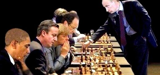 Putin chess West