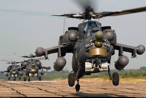 Russia helicopters military syria