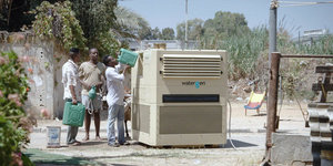 Water-gen machine: Generate water from air