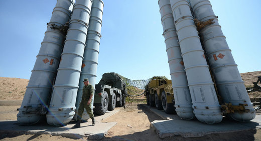 Russian S-300 missile defense system