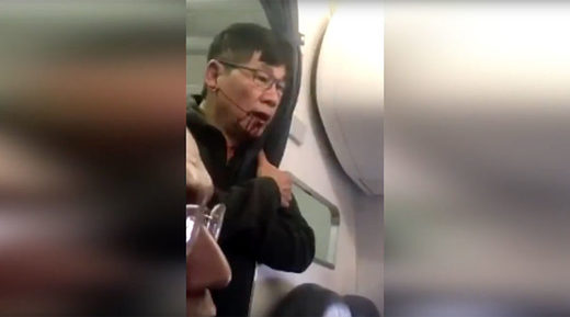 united airlines passenger dragged flight