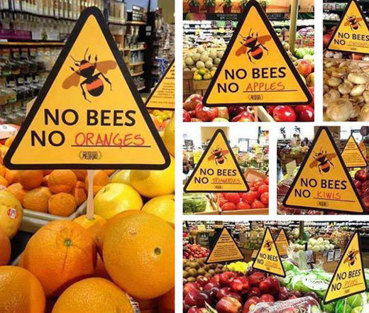 No bee no food