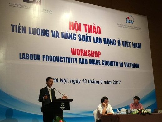 Workshop on labour productivity and wage growth in Vietnam