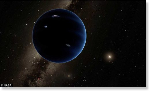 Scientists have found that the orbits of distant rocks in the solar system can be explained by the presence of a ninth planet.