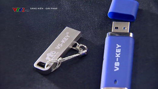 VS-KEY USB immune to computer virus
