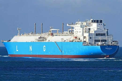 LNG ship Gaselys Engie