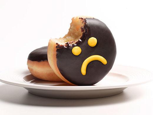 sad donut