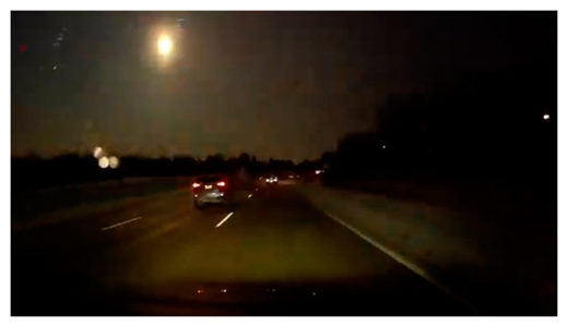 Meteor over Michigan