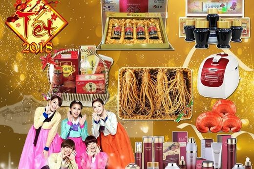 Gifts in lunar new year