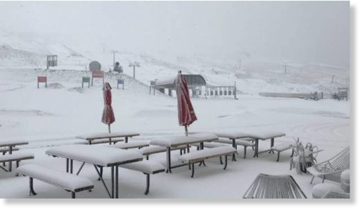 Cardrona has had 15cm of snowfall over the last 20 hours.