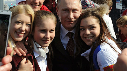 Putin and young Russians