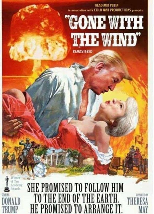 may trump gone with wind