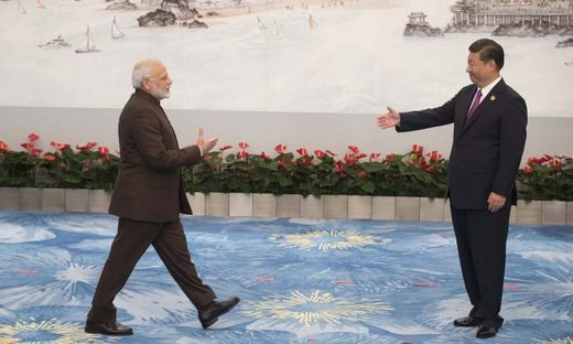 Xi Jinping Narendra Modi China India