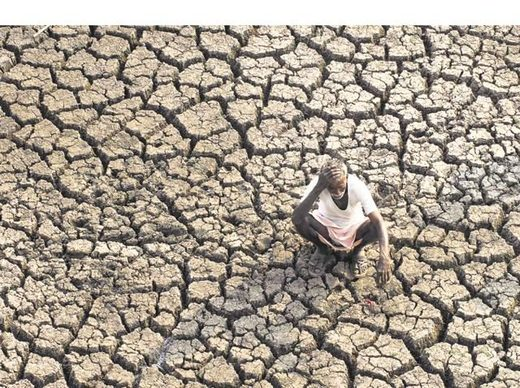 India drought