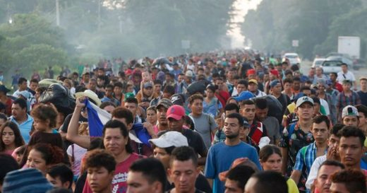 Immigrant caravan from Mexico