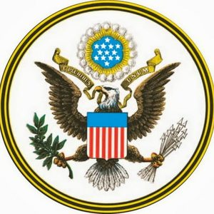 Great seal of the united states american eagle