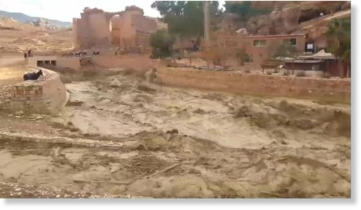 Jordan has once again been hit by heavy floods.
