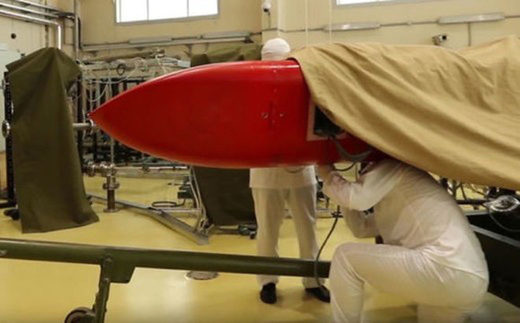 Burevestnik, Russian nuclear-powered cruise missile with unlimited range