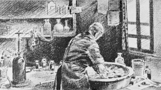 Semmelweis - hand washing