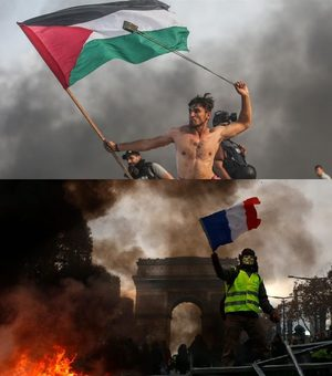 gaza paris protests