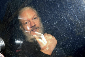 Julian Assange arrest
