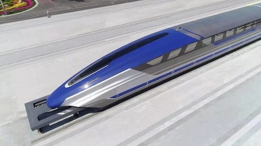 China magnetic levitation speed train