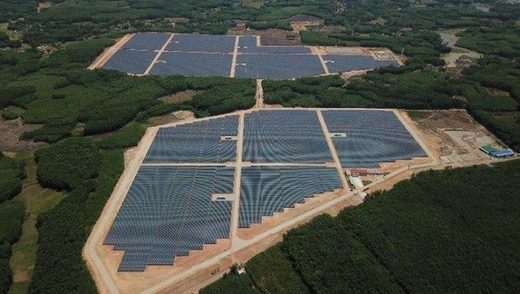 solar power generation in Vietnam