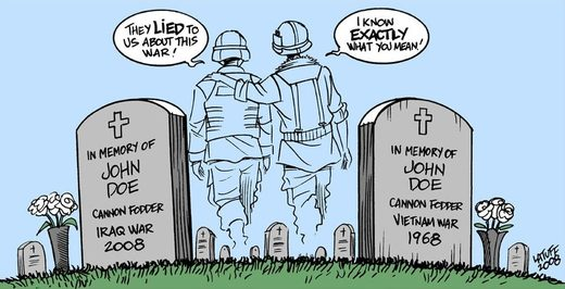 Vietnam iraq war lies
