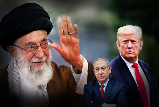 Khamenei and trump