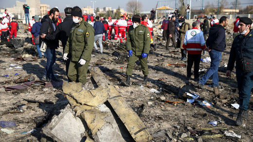 ukraine plane crash iran