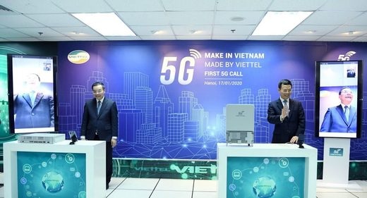 First 5G call on equipment made in Vietnam